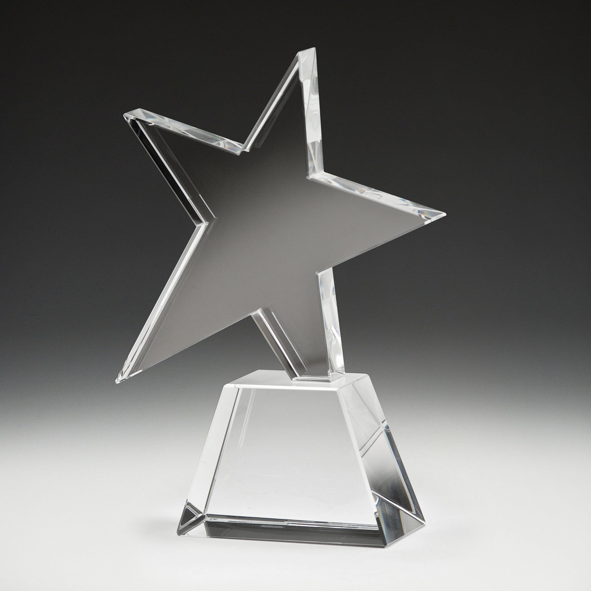 Optical Crystal Star