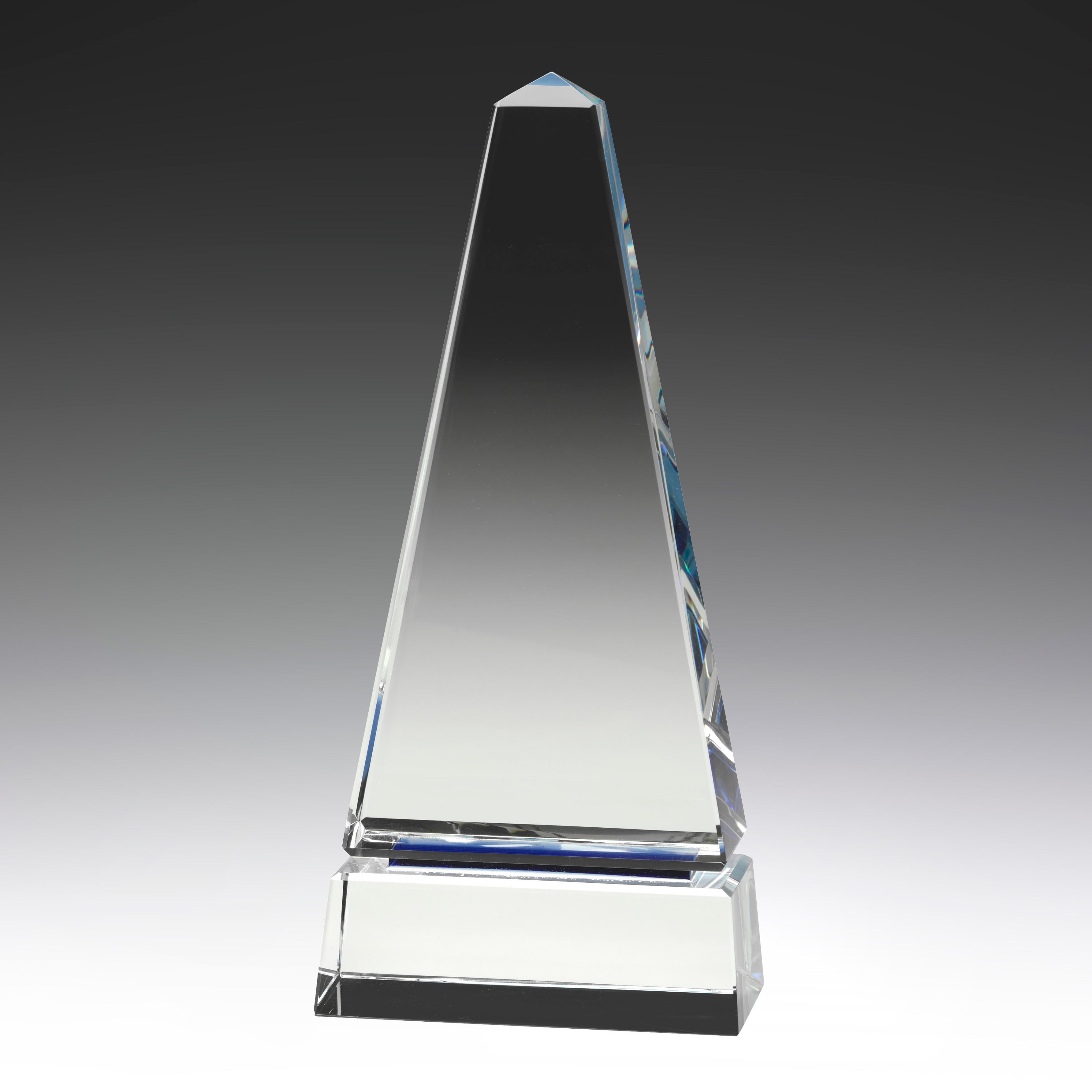 Optical Crystal Blue Luxor