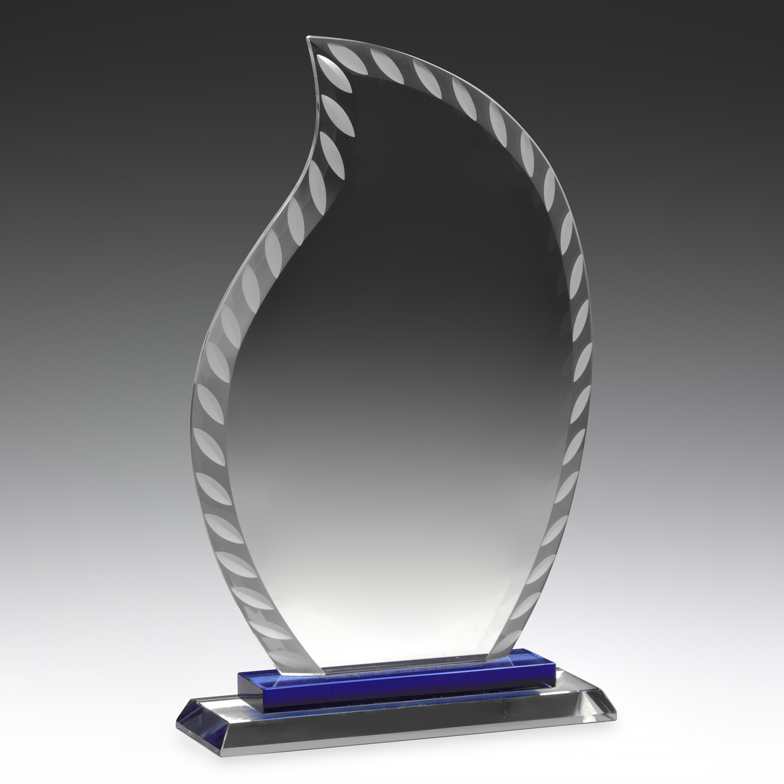 Aqua Glass Flame