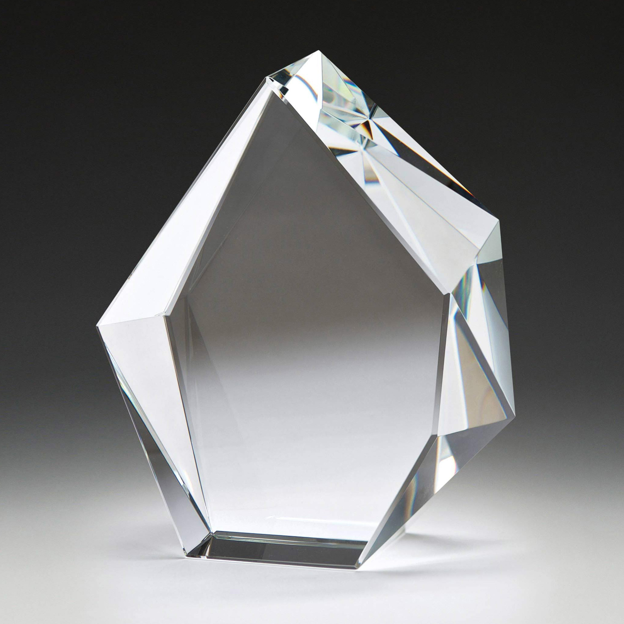 Optical Crystal Glacier