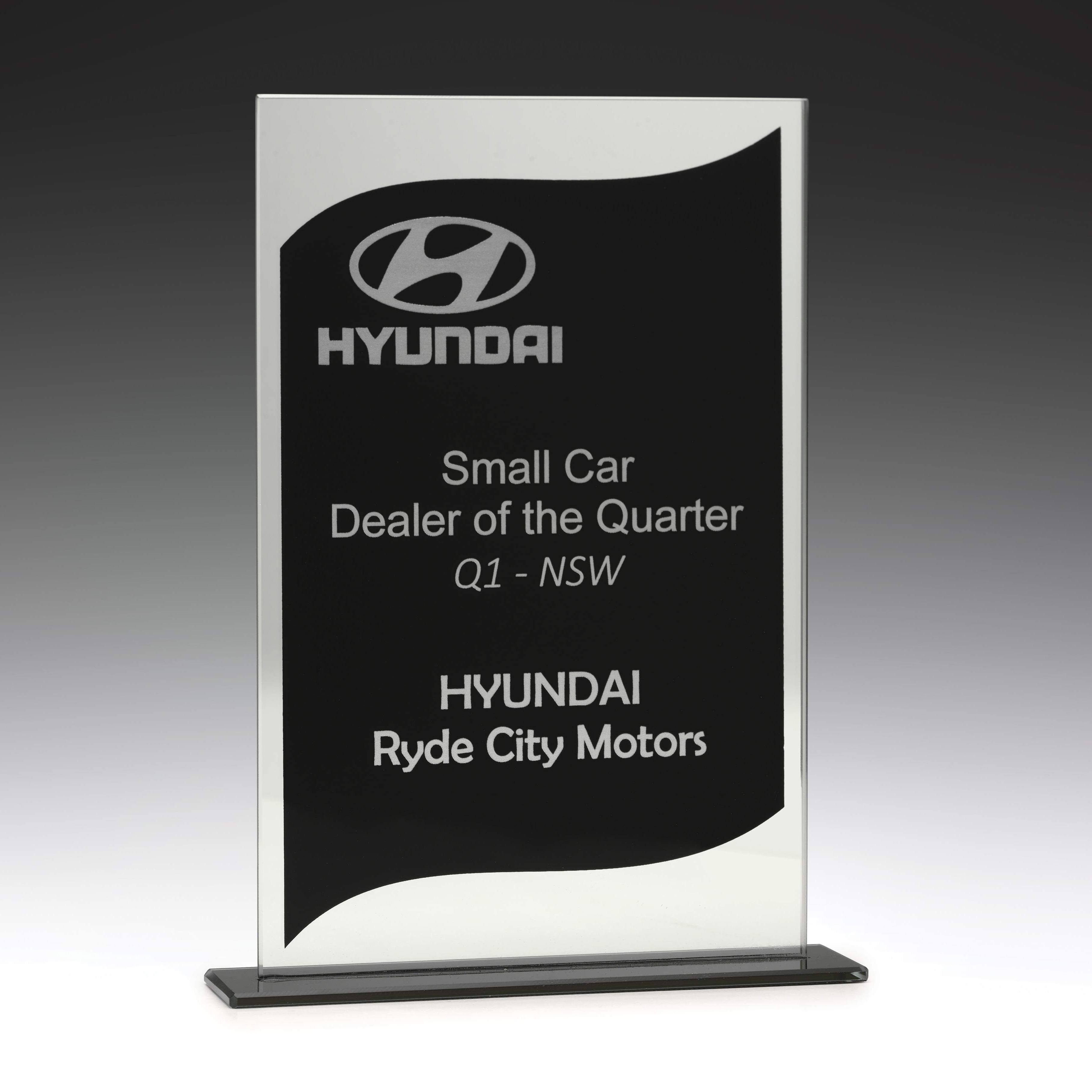 Glass Value Mirror Award