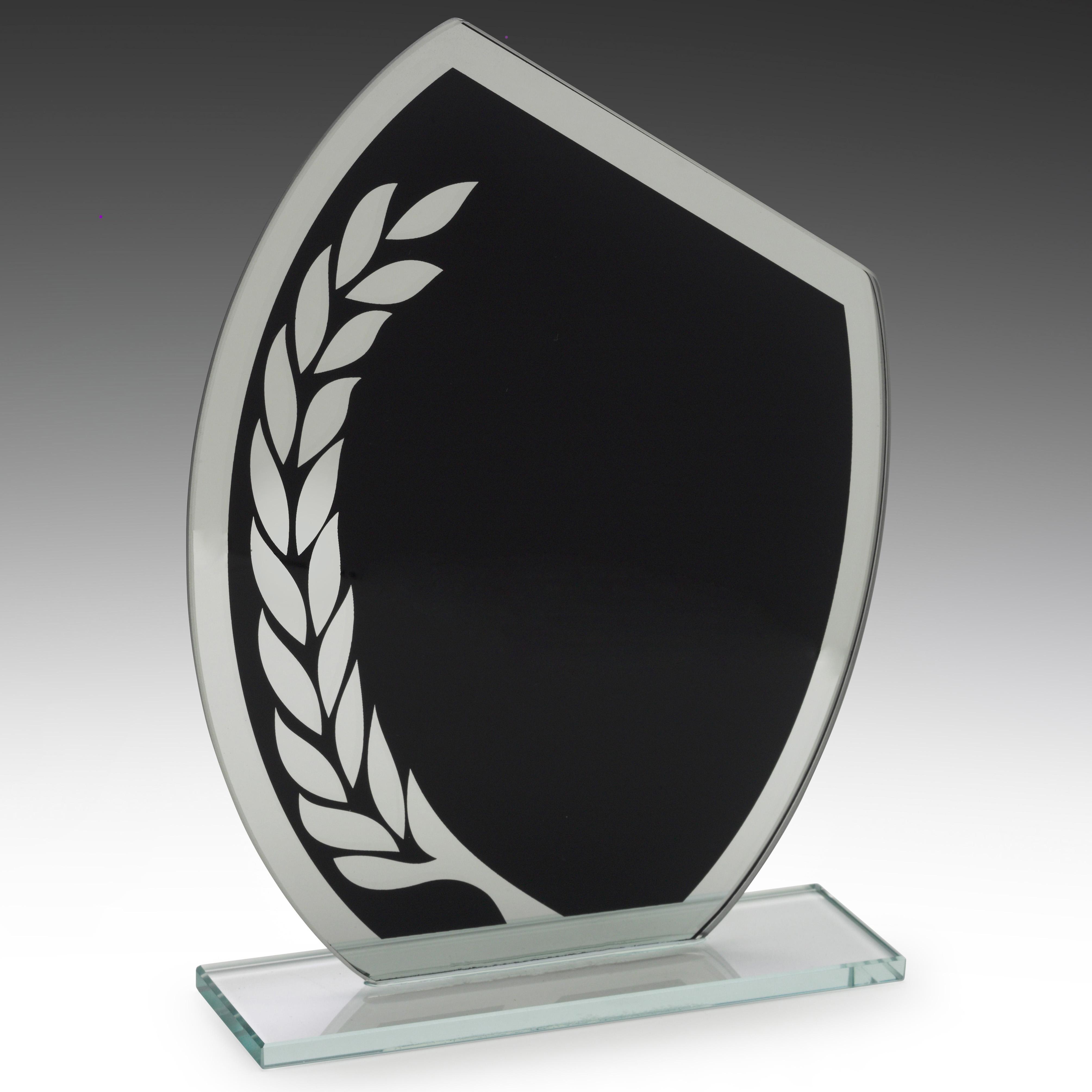 Black Wreath Glass Award