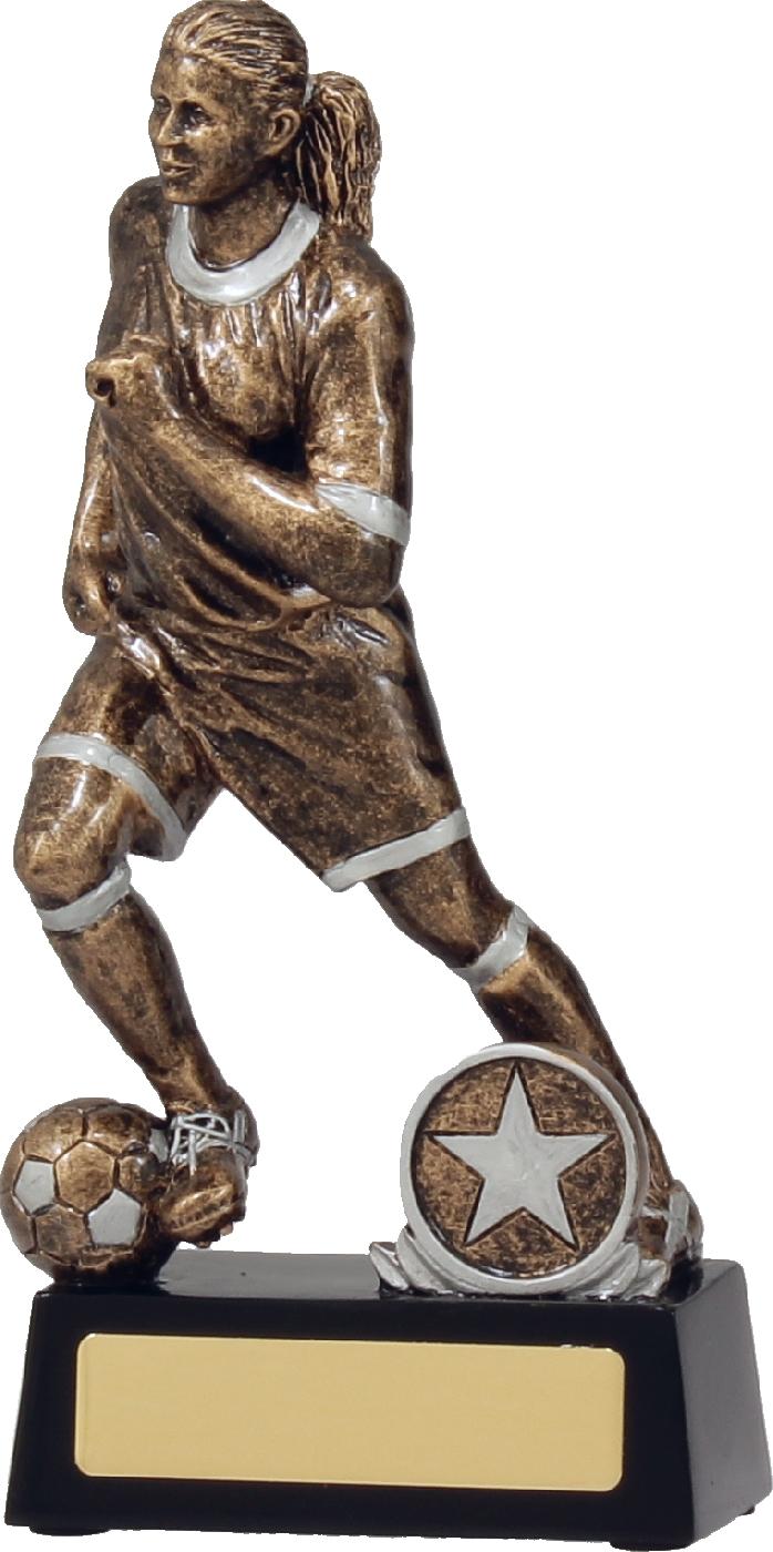 Football Action Female