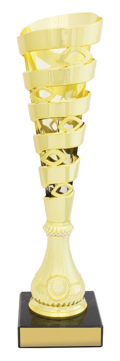 Mega Spiral Cups Gold