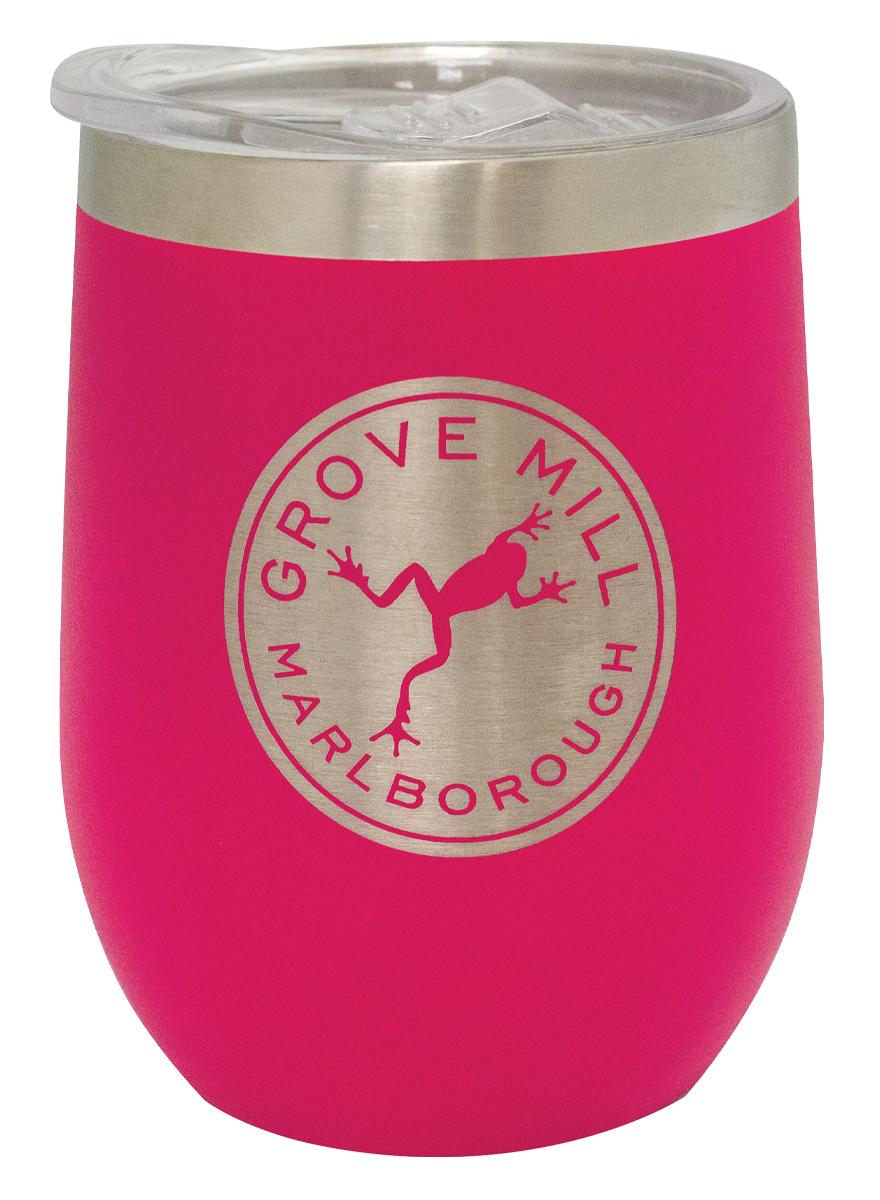 Pink Wine Tumbler