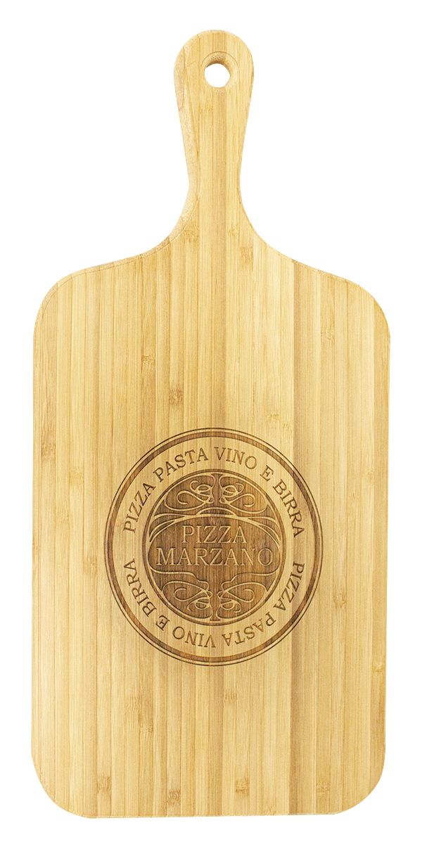 Bamboo Cheesboard with Handle