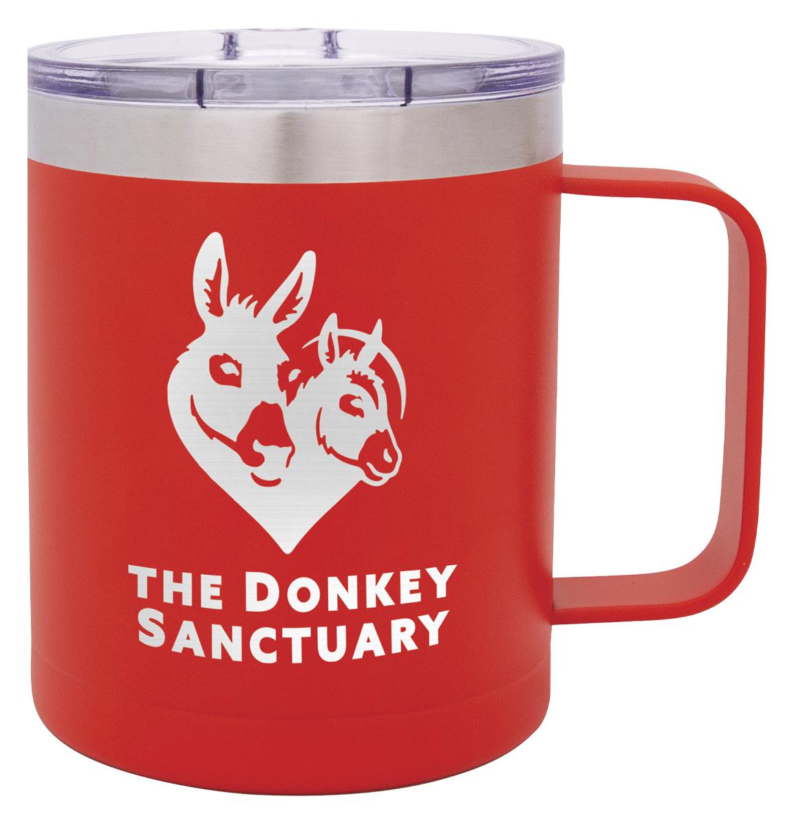 Red Camper Mug
