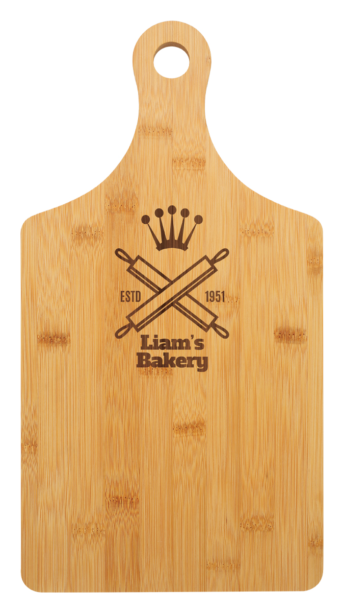 Bamboo Board with Handle
