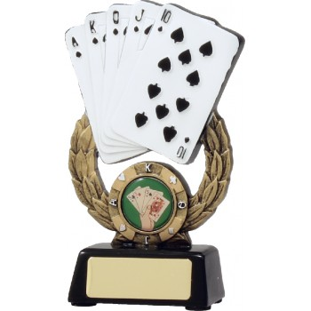 Card Resin Trophy