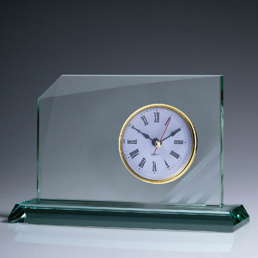 Striped Jade Clock