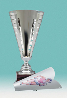 Silver Finish Trophy Cup 1004