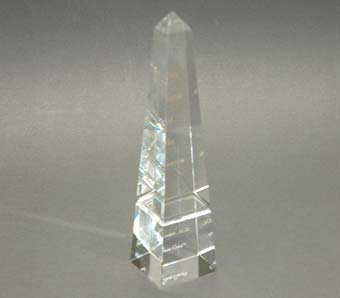Optical Crystal Obelisk