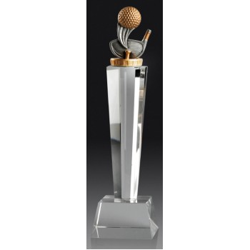 Crystal Golf Pedestal